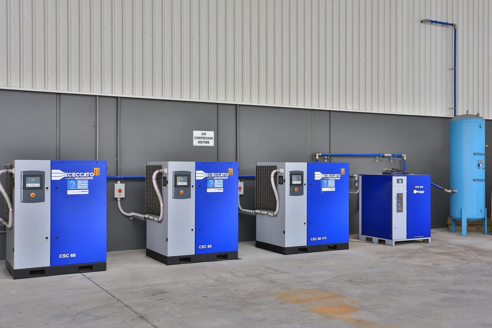 Ceccato Screw Compressors from Nessco Pressure Systems