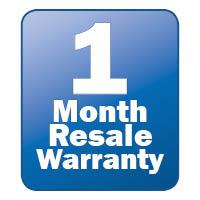 1 Month Resale Warranty