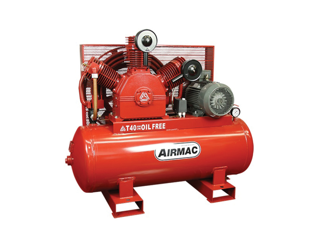 AirmacT40 Oil-Free Compressor_NPS