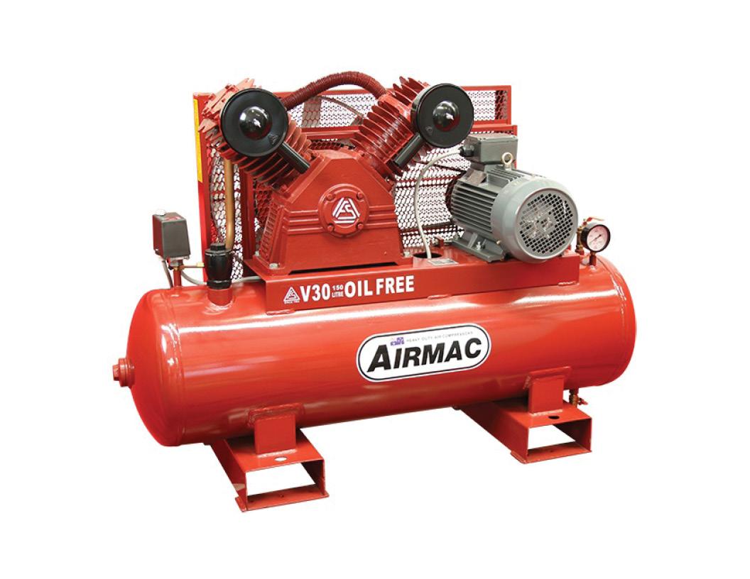 AirmacV30 Oil-Free Compressor NPS