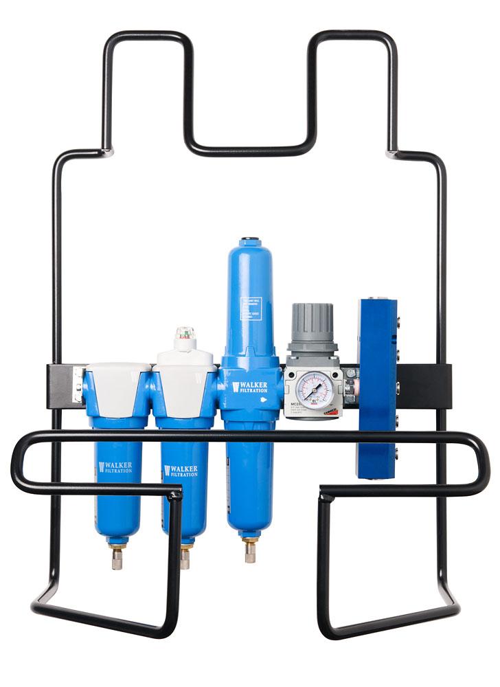 Compressed Air breathing setup